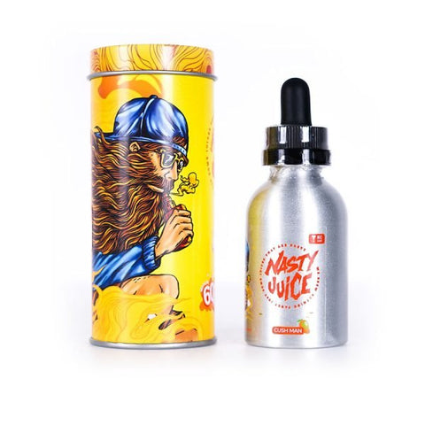 Nasty Juice Cush Man 0mg 50ml 60ml uk shortfill