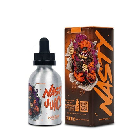 nasty juice devil teeth eliquid 50ml 60ml uk shortfill