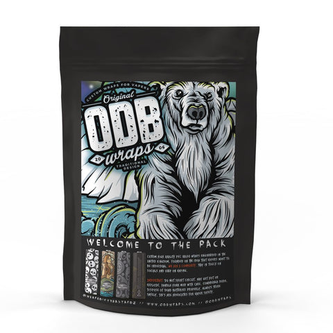 ODB Wraps - Battery Wraps | UK Ecig Station