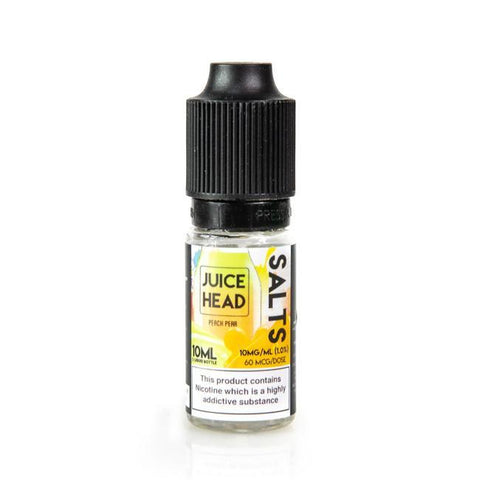 Juice Head Salts - Peach Pear | UK Ecig Station