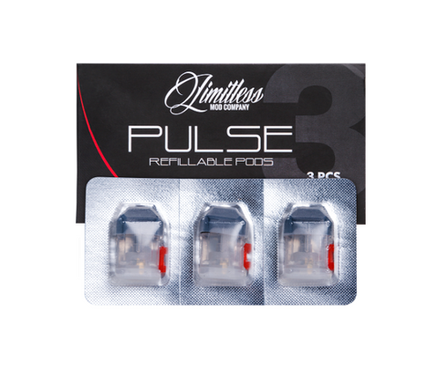 Limitless Pulse Replacement Pods - UK Ecig Station