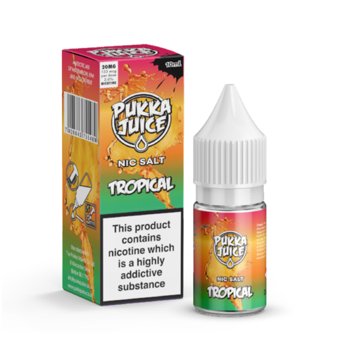 Pukka Juice Salts - Tropical | UK Ecig Station