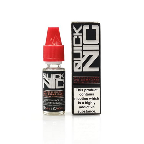 QuickNic - Nicotine Shot 10ml | UK Ecig Station