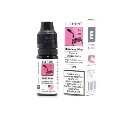 Element Dripper Series - Strawberry Whip | UK Ecig Station