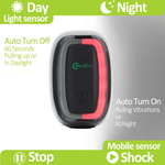 Rechargeable Smart LED Bicycle Tail Light