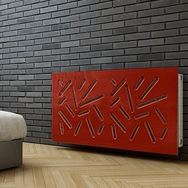 Sticks Radiator Cover RED
