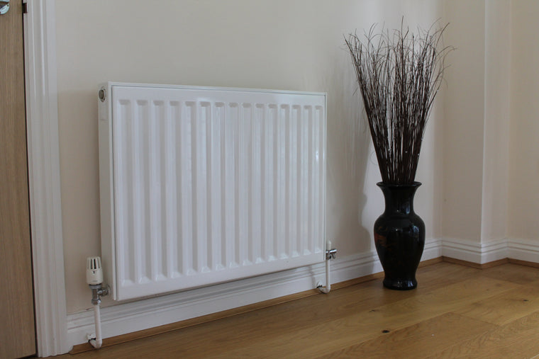 Standard Panel Radiator in a dining room