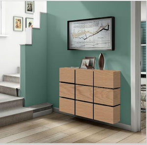 ADD ON Options for Floating Radiator Covers Top and Cabinets Contrasting Colour Finishes-Wood Finish-Distinct Designs (London) Ltd
