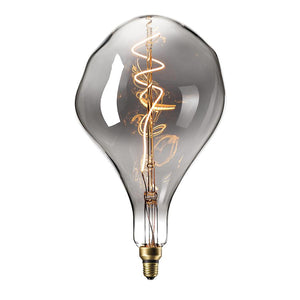 Vintage Oversized SPLASH LED Bulb for Display Table Desk Pendant Light Fixtures-XXL-Titanium-Distinct Designs (London) Ltd