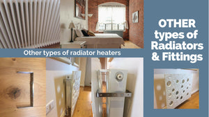 Alternative Radiator Covers Fittings for Column, Roll Round Top Radiators, Bathroom Towel Rails etc.-Other Heaters / Coolers-Distinct Designs (London) Ltd