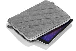 "Protective Sleeve Cover Case for Tablet Devices up to 10"" x 7"" inches 25 x 18cm-Slate grey-Distinct Designs (London) Ltd"