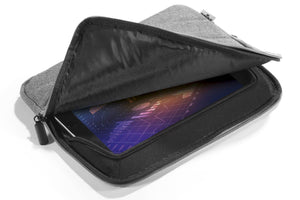 "Protective Sleeve Cover Case for Tablet Devices up to 10"" x 7"" inches 25 x 18cm-Black-Distinct Designs (London) Ltd"