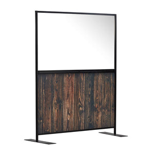 Floor Standing Hospitality Partition Screen 6 feet Infection Barrier Social Distancing Divider Panel-H185xW150cm-Distinct Designs (London) Ltd
