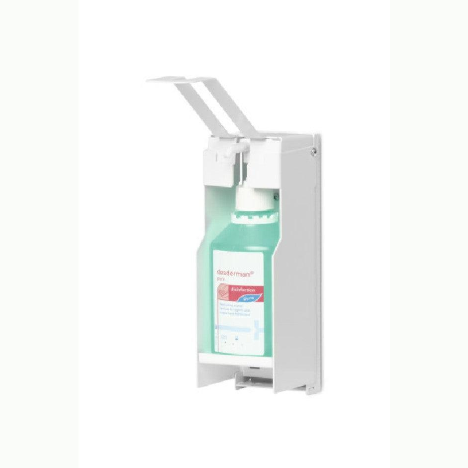Infection Control Hand Sanitiser Disinfectant Dispenser Wall Fixed Unit Hands Free Dispensing Station-Wall Mounted-Distinct Designs (London) Ltd