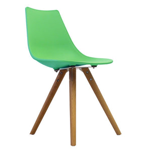 Classic Mid-Century Design Dining Office Chair in durable Peppermint ABS Plastic-Distinct Designs (London) Ltd