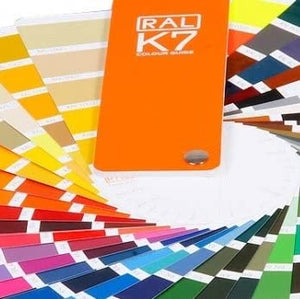 RAL Classic K7 Colour Chart Pallet Icons Fan Deck Swatches with reference numbers-Distinct Designs (London) Ltd