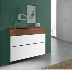 ADD ON Options for Floating Radiator Covers Top and Cabinets Contrasting Colour Finishes-Contrasting Section Finish-Distinct Designs (London) Ltd