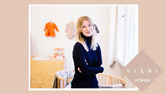 VIERI WOMEN: ANNE POSTRACH FROM TINY STORE