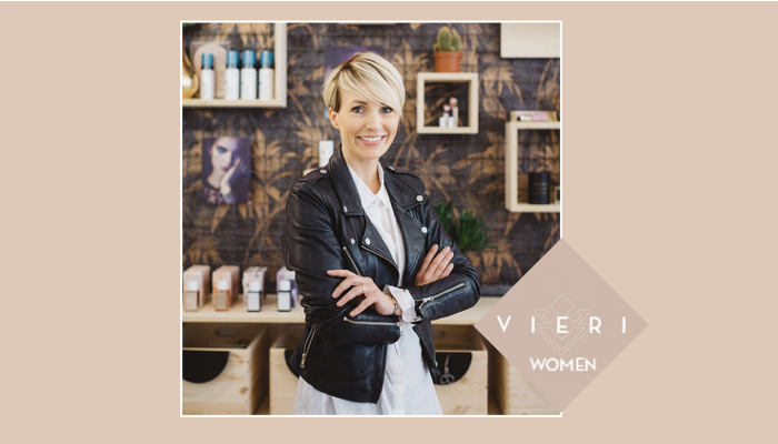 VIERI WOMEN: MIRIAM JACKS FROM JACKS BEAUTY DEPARTMENT
