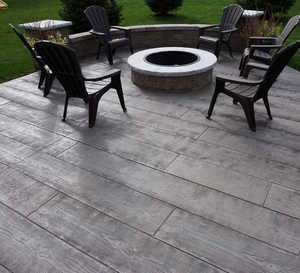 Stamp Concrete Mold:  Wood Deck