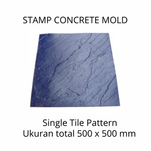 Stamp Concrete Mold:  Single Tile
