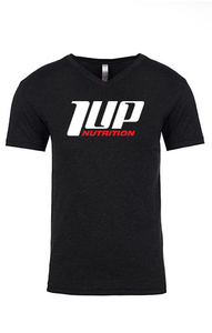 1UP Nutrition Men's Black V-Neck