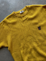 Patagonia 90s Made In U.S.A. Snap-T Green/Yellow Fleece - size L