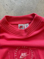 Adidas x Amsterdam Marathon 1998 Doublesided Red Tee - size L