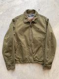 Ralph Lauren Polo 90s Lined Nylon Camel Dad Jacket - fits XL