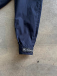 Burberry Burberrys 80s Nova Check Interior Navy Wool Jacket - size L