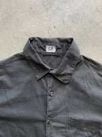 Stone Island 2001 Charcoal Bleached Polo - size L