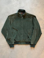 Stone Island 80s Green Edge Navy Mockneck Knitted Sweat - fits S/M