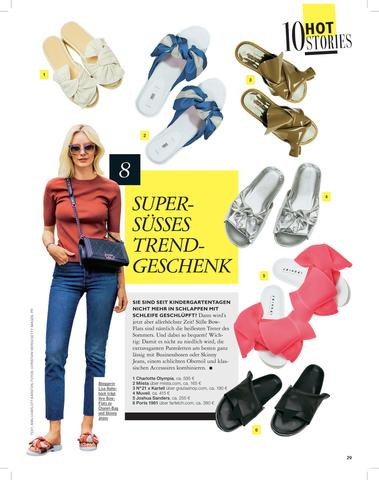 Valerie Terracotta Featured In Grazia Magazine - Germany