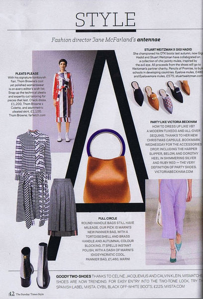 Cybil Boots Featured In Sunday Times