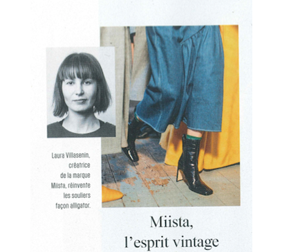 Miista featured in L'Express Dix