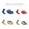 Heel Tread - Rally Legends socks