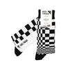 Pasha Black/White Socks