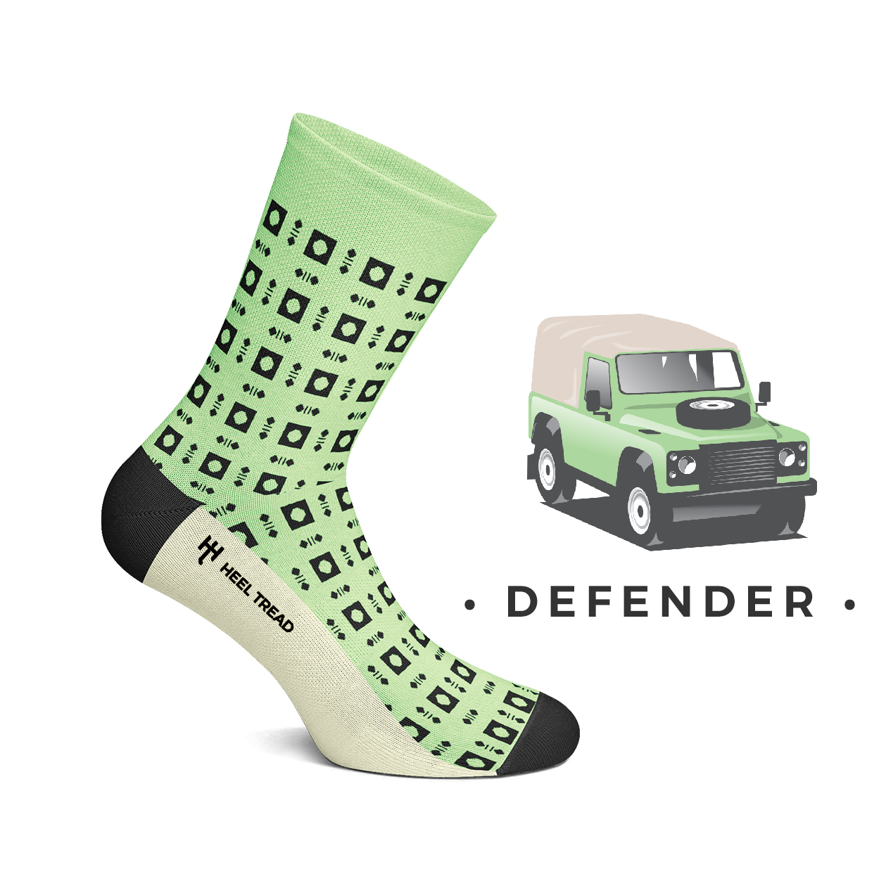 Heel Tread - Defender Socks