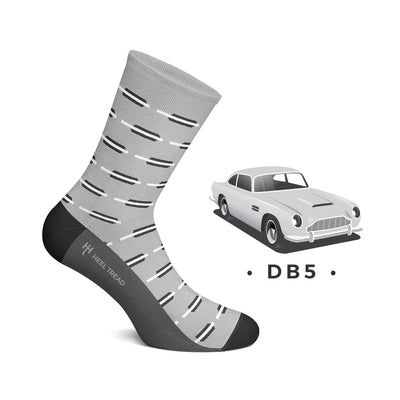 Heel Tread - DB5 Socks