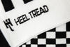 Heel Tread - Pasha Black/White Socks