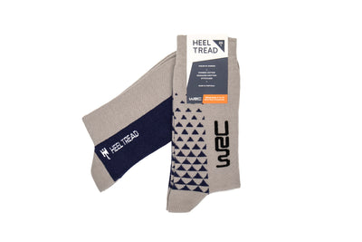 WRC Official Silver/Blue Socks