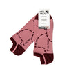 Heel Tread - Pink Pig Low Socks