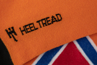 Heel Tread - The General Socks