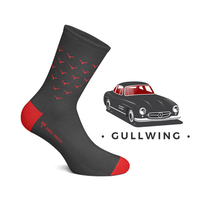 Heel Tread - Gullwing Socks