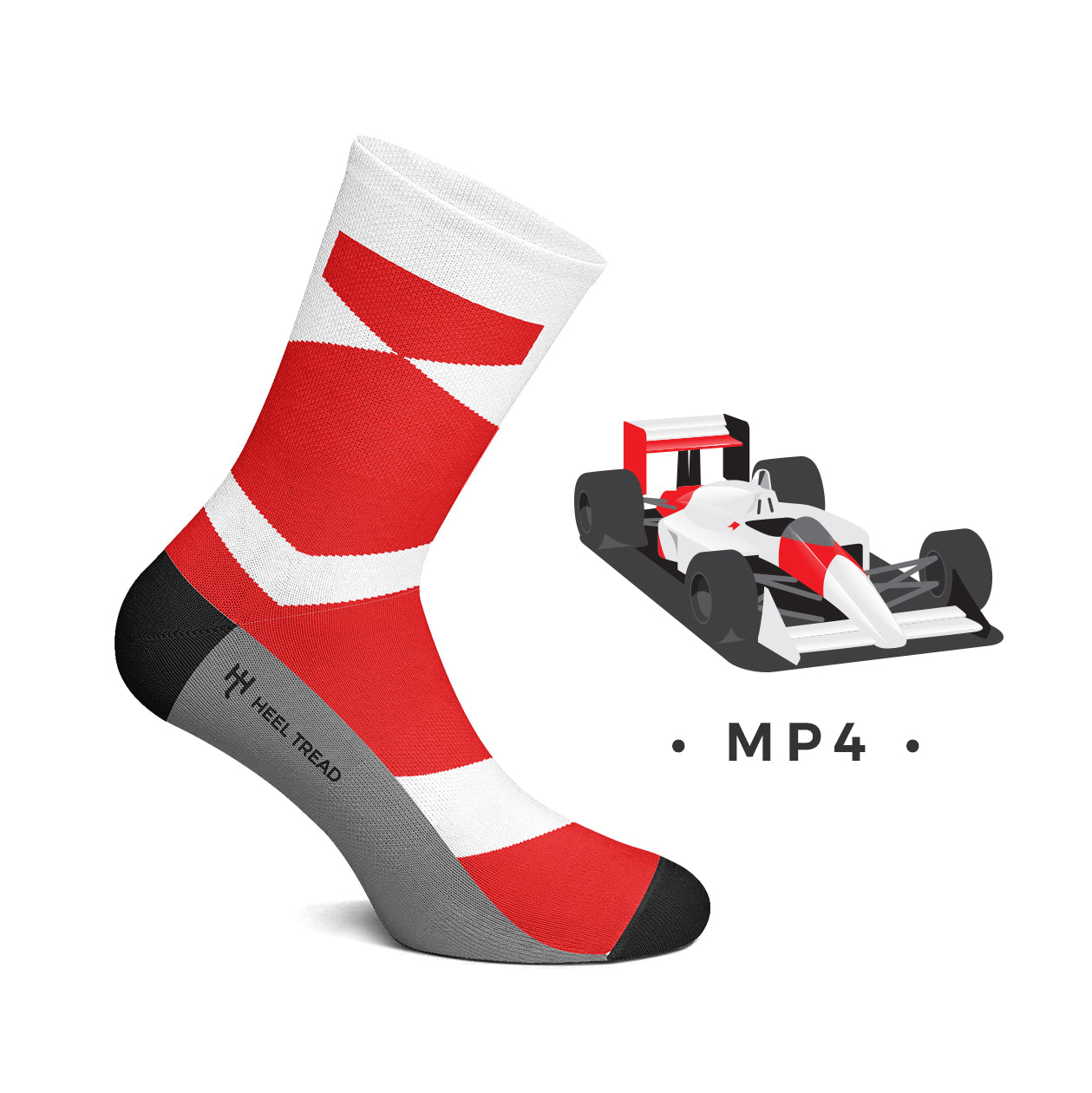 Heel Tread - MP4 Socks