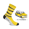 Heel Tread - 5 Turbo Socks