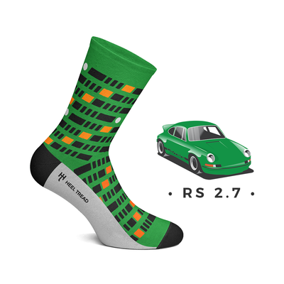 Heel Tread - RS 2.7 Socks
