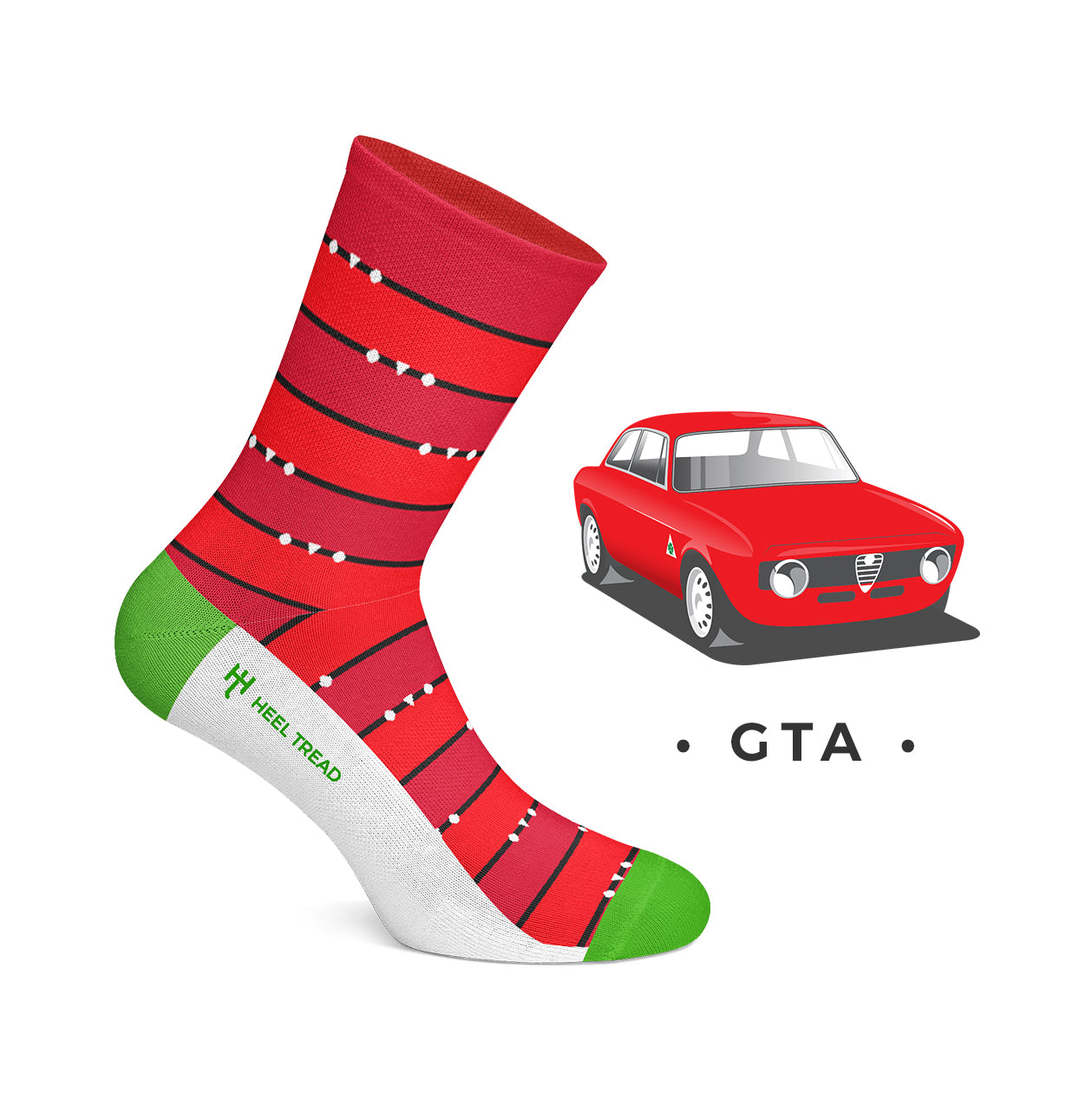 Heel Tread - GTA Socks