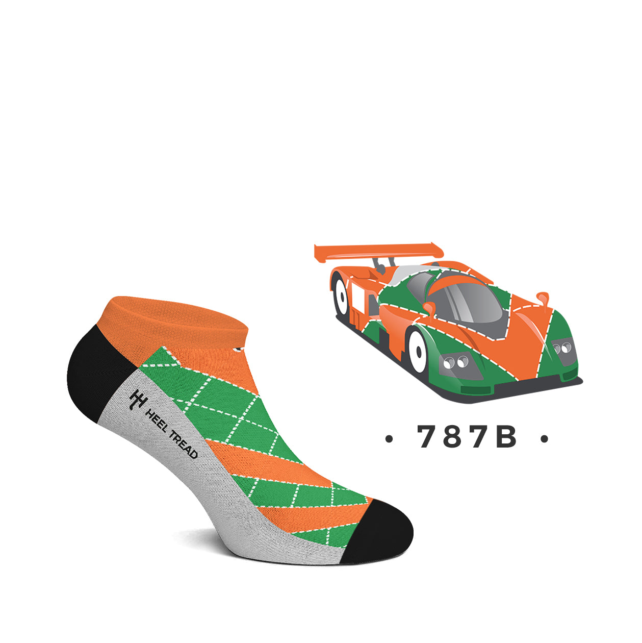 787B Low Socks
