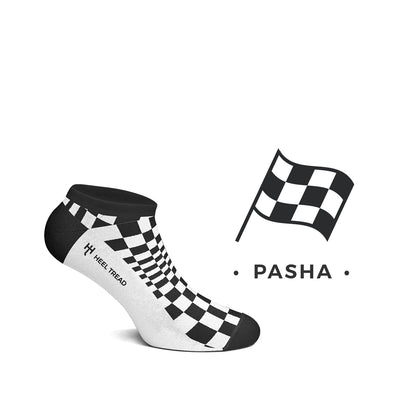 Heel Tread - Pasha Low Socks